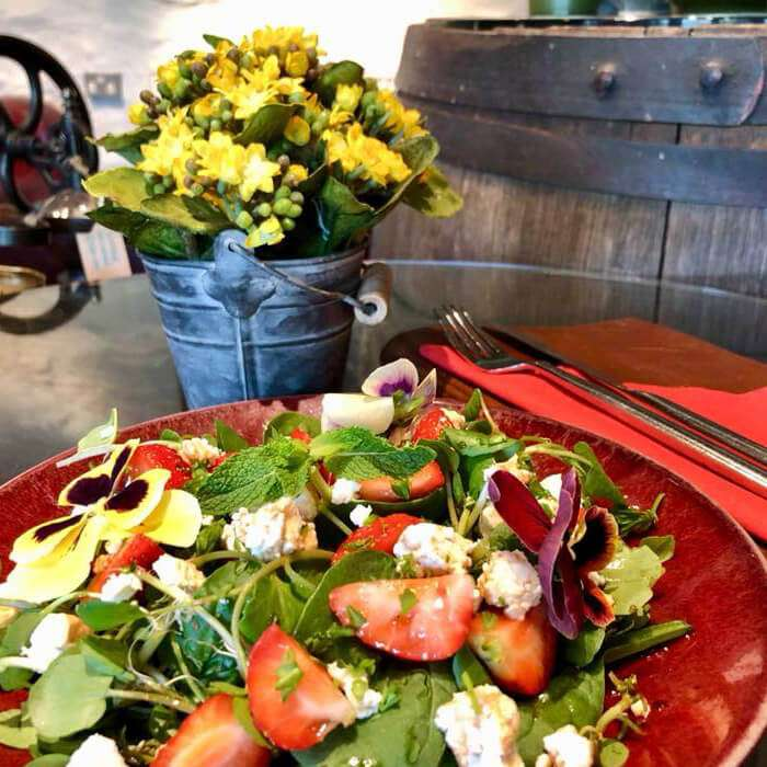 Aberfeldy Watermill Cafe Salad